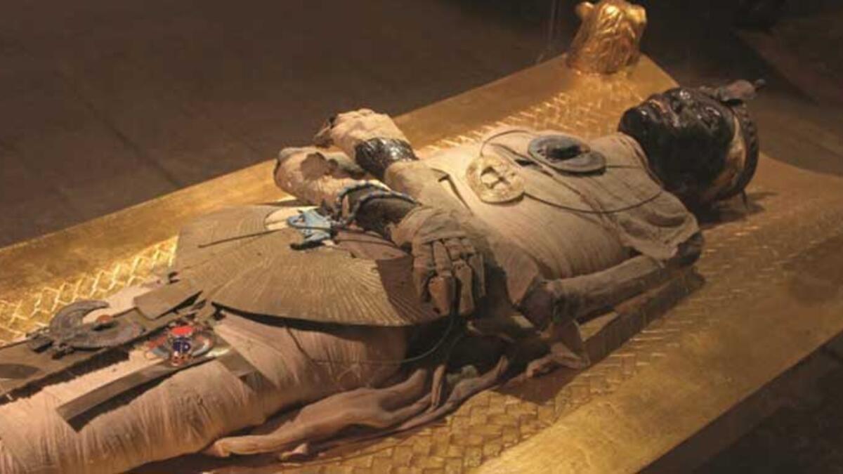 Bilim insanlarının ortaya çıkardığı hamile Mısır mumyası