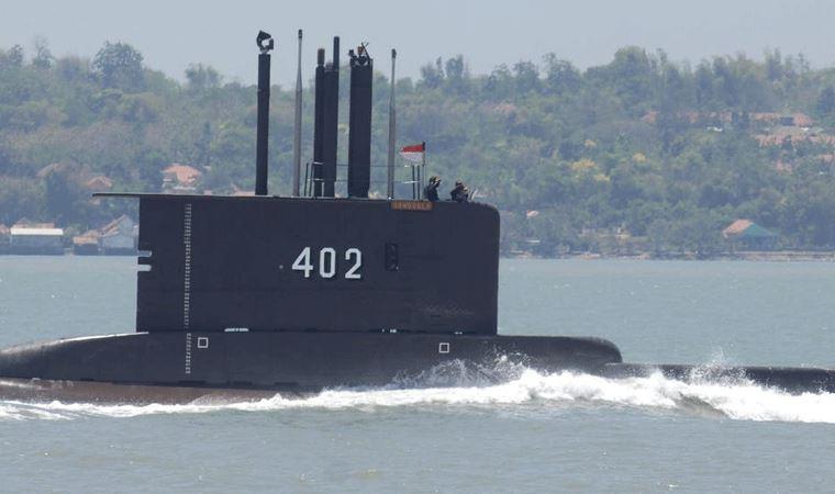 Endonezya denizaltısı Bali'nin kuzeyine kayboldu