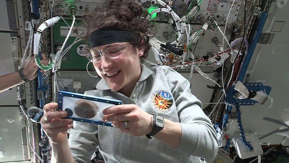 Astronotlar tarafından uzayda pişirilen ilk yiyecek